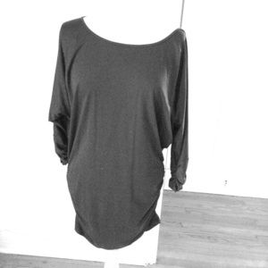 Susana Monaco black tunic dress